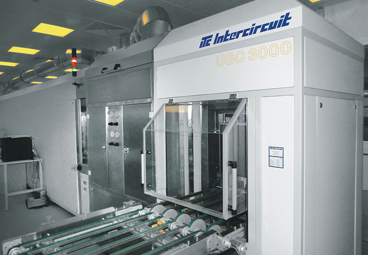 Soldermask Spray Coating System USC 3000